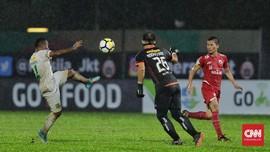 Persija Ditahan Imbang Persebaya 1-1 di Stadion PTIK