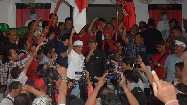 Koster-Ace Menang Pilgub Bali 2018