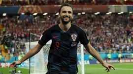 Kroasia Raih Nilai Sempurna di Grup Neraka Piala Dunia 2018