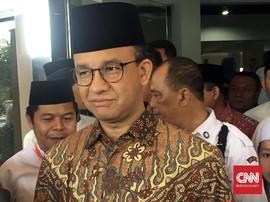 Anies Tak Tahu Ada Slogan Ganti Presiden di Acara PNS DKI