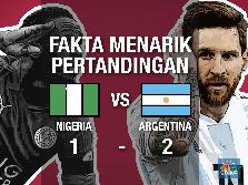 VIDEO: Messi Bawa Argentina Lolos 16 Besar & Fakta Menariknya