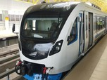 LRT Jabodebek Made in Madiun Menumpuk di Pabrik
