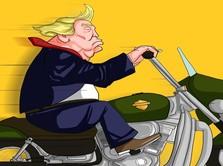 Efek Perang Dagang, Trump Ikut Boikot Harley Davidson