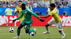 Babak Pertama, Kolombia Ditahan Imbang Senegal