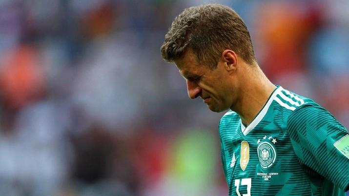 Jerman dan Bola Bundar 'Kutukan Juara Bertahan'