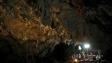 Lokasi Terjebaknya 'Remaja Gua' di Thailand Jadi Objek Wisata