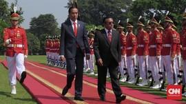 Perdana Sejak Dilantik, Presiden Timor Leste Temui Jokowi