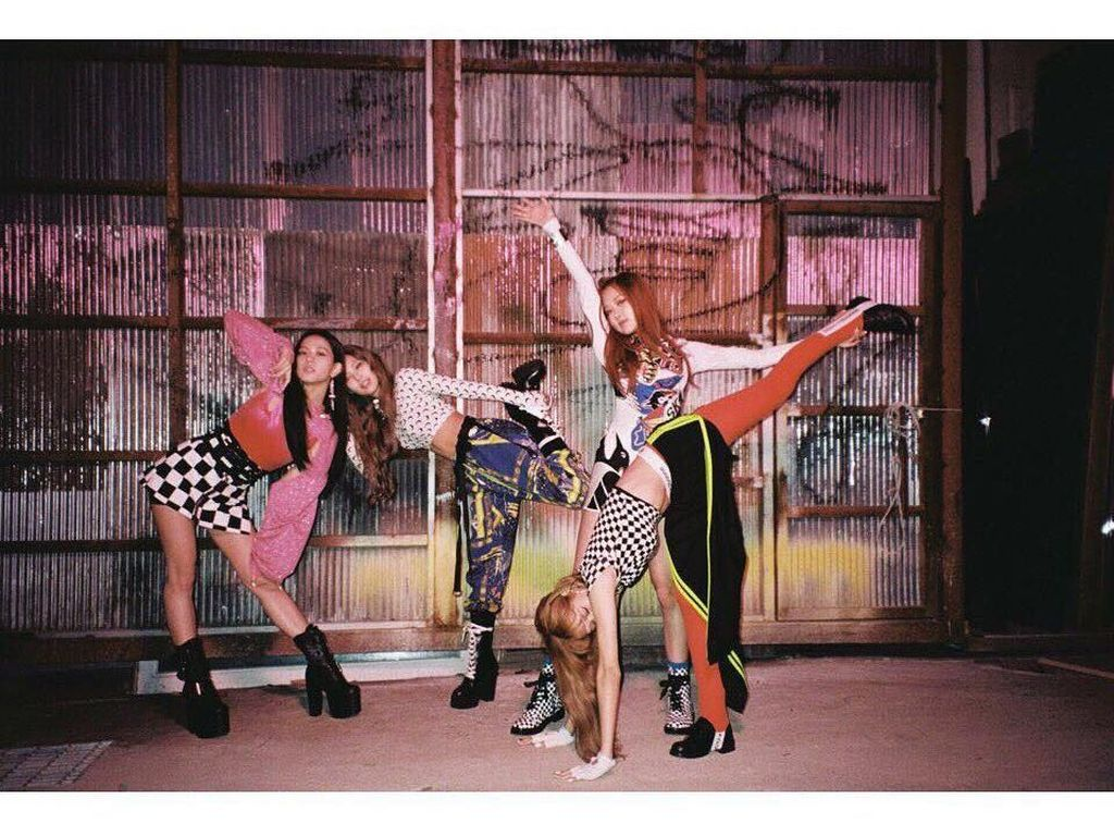 Gaya Nyentrik BLACKPINK, Girlband K-pop yang Ukir Sejarah di Billboard