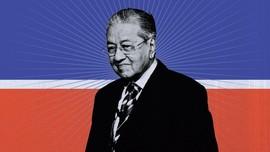 INFOGRAFIS: Mahathir dan Sejarah Hubungan RI-Malaysia