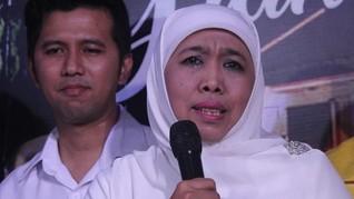 Khofifah-Emil Temui Surya Paloh di DPP Partai NasDem