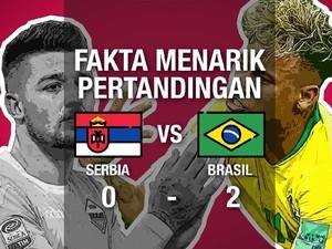 Video: Fakta Menarik Pertandingan Brasil Vs Serbia