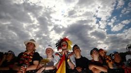 FOTO: Tangisan Pendukung Sang Juara Bertahan