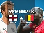 Fakta Menarik Jelang Inggris vs Belgia