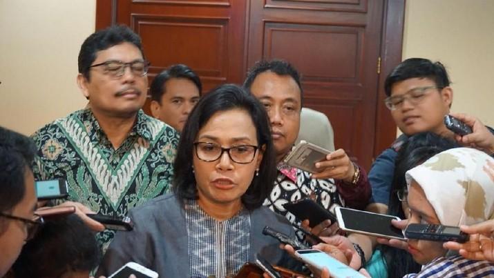 Sri Mulyani bilang bahwa pemerintah masih komit menjaga keuangan Pertamina
