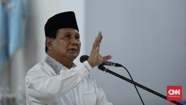 Prabowo Sebut Isu Khilafah Propaganda Licik