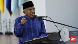Amien soal Ekonomi Indonesia: Jokowi Belum Dapat Izin Allah