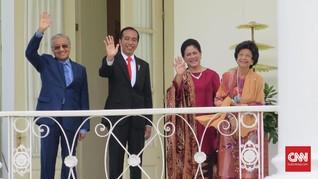 Jokowi-Mahathir Komitmen Selesaikan Masalah Perbatasan