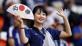 FOTO: Pesona Fan Wanita di Penyisihan Piala Dunia 2018