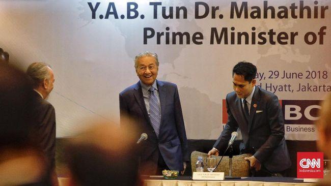 Temui Mahathir, Pebisnis Indonesia Mengeluh Sulit Investasi
