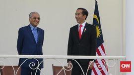 Sambut Mahathir, Jokowi Cerita soal Kuda dan Kambing Piaraan