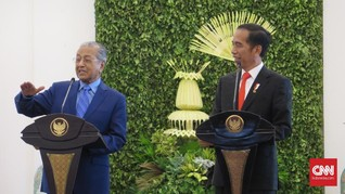 Temui Jokowi, Mahathir Singgung Kerja Sama Proton dan Esemka