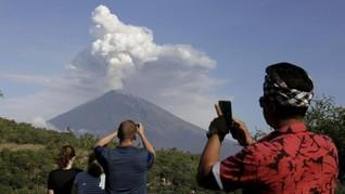 PVMBG: Kondisi Gunung Agung Belum Stabil