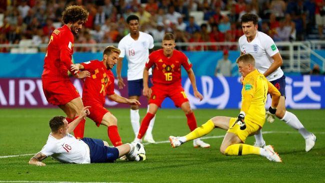 Belgia vs Inggris Berpotensi Lebih Menarik dari Laga Final