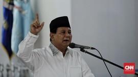 Gerindra Ajukan Berkas Caleg dengan Map 2019 Prabowo Presiden