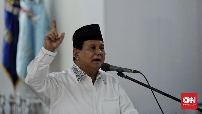 Prabowo: Rakyat Ingin Pemimpin yang Bersih