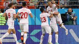 Tunisia Kalahkan Panama di Piala Dunia 2018