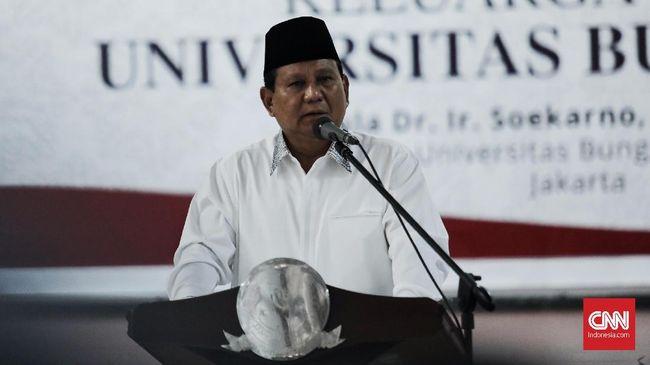 Prabowo Ungkit Istilah 'Inlander' Saat Pidato di UBK