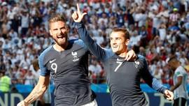 Prediksi Uruguay vs Prancis di Perempat Final Piala Dunia