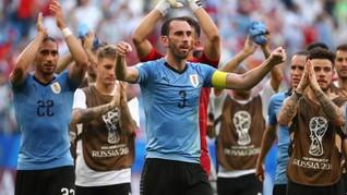 Tanpa Suarez dan Cavani, Uruguay Lumat Timnas Thailand 4-0