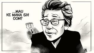 GM Sudarta, 'Pengembus Nyawa' Satire Oom Pasikom