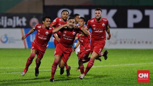 Klasemen Liga 1 2018 Usai Persija Kalahkan Sriwijaya FC