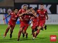 Gol Salto Da Silva, Persija Ungguli Persib 1-0 di Babak I