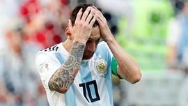 Messi Belum Sudi Gabung Timnas Argentina