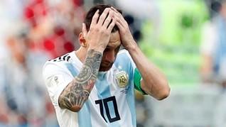 Lionel Messi Dilarang Pensiun dari Timnas Argentina
