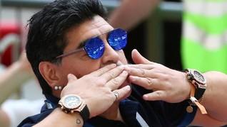 Legenda Sepak Bola Argentina Maradona: Hati Saya Palestina