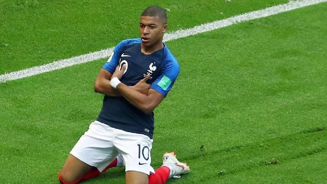 Libas Argentina 4-3, Prancis ke Perempat Final Piala Dunia