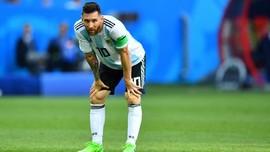 Messi Kemungkinan Tak Perkuat Timnas Argentina Lawan Kolombia