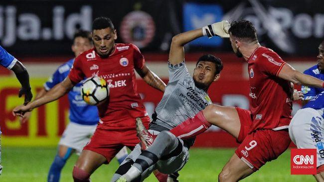 Persija Kalahkan Persib Berkat Gol Salto Da Silva