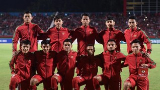Timnas Indonesia U-19 Kalahkan Singapura 4-0