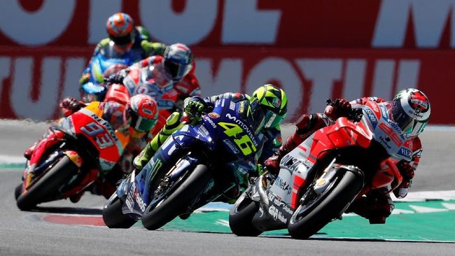 Kisah Lorenzo Ditabrak Rossi di MotoGP Belanda
