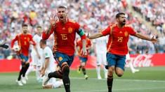 Babak Pertama: Dua Bek Blunder, Spanyol 1-1 Rusia