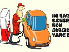 Ini Harga Baru Bensin Non-Subsidi yang Dijual di SPBU