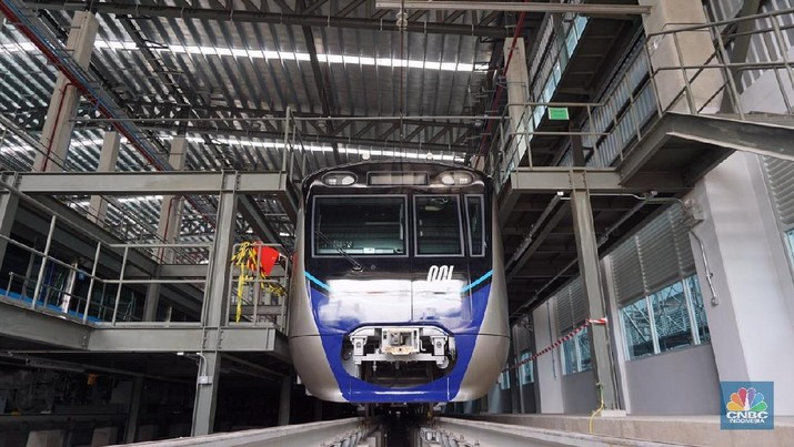 Uji Coba MRT Lewat Jalur Bawah Tanah Lancar Jaya