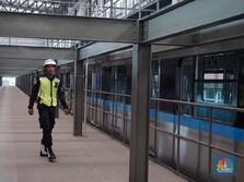 Progres Konstruksi 95%, MRT Jakarta Beroperasi 197 Hari Lagi