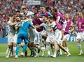 FOTO: Drama Adu Penalti Spanyol vs Rusia