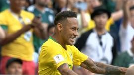 VIDEO: Aksi Neymar Bawa Brasil Menang 2-0 Atas Meksiko